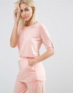 Топ с короткими рукавами Heidi Klum Rise & Swing - Розовый