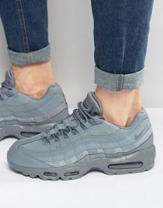Серые кроссовки Nike Air Max 95 Essential 749766-012 - Серый