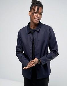 Легкая куртка со скрытой планкой Only & Sons - Темно-синий