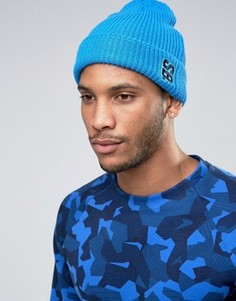 new product f3b73 9dfae Голубая шапка-бини Nike SB Surplus 804539-435 - Синий
