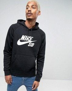 Худи черного цвета Nike SB Icon 846886-010 - Черный