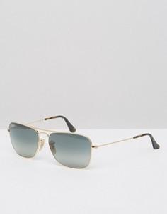 Солнцезащитные очки-авиаторы Ray-Ban 0RB3136 - Золотой