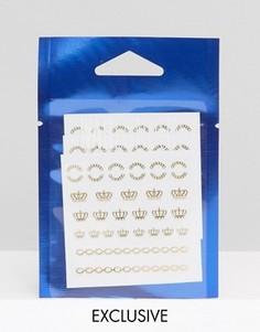 Наклейки для ногтей WAH London & ASOS - Золотой