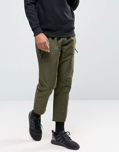 Джоггеры цвета хаки adidas Originals Fallen Future BR1815 - Зеленый