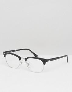 Очки-клабмастеры Ray-Ban 0RX5154 - Черный