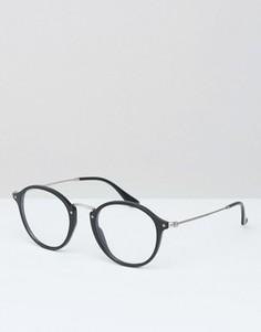 Круглые очки Ray-Ban 0RX2447V - Черный