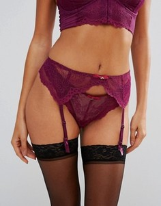 Кружевные подтяжки Gossard Superboost - Фиолетовый