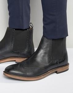 Ботинки челси с отделкой под броги KG By Kurt Geiger - Черный