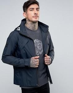 Легкая темно-синяя куртка с капюшоном Pretty Green Carlton - Темно-синий
