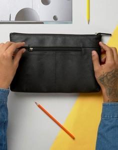 Кожаный чехол для Ipad ASOS - Черный