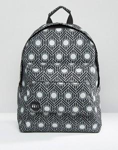 Черный рюкзак с принтом Mi-Pac - Черный