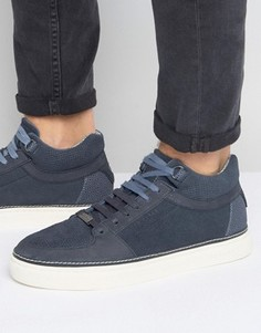 Замшевые кроссовки Ted Baker Komett - Темно-синий