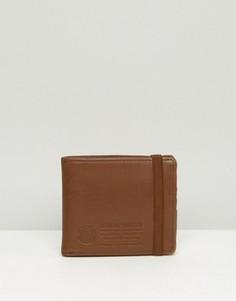 Кожаный бумажник Element Endure - Коричневый