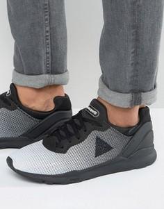 Жаккардовые кроссовки Le Coq Sportif R XVI - Черный