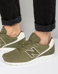 Зеленые кроссовки в стиле 70-х New Balance Running 420 MRL996DZ - Зеленый