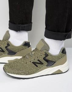 Зеленые кроссовки для бега в стиле 70-х New Balance 420 MRT580XE - Зеленый