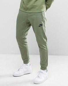 Зеленые джоггеры Nike AV15 804862-387 - Зеленый