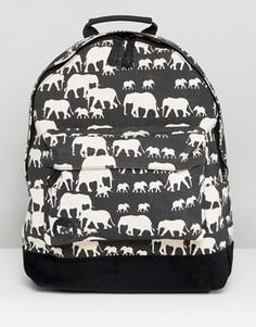 Рюкзак с принтом слона Mi Pac - Черный