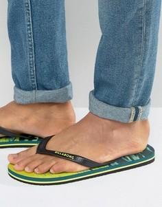 Шлепанцы Billabong Tides - Желтый