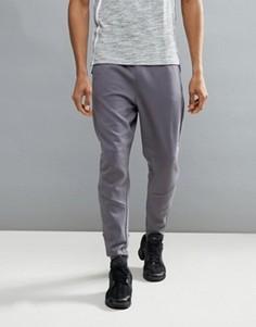 Серые джоггеры с заниженным шаговым швом adidas ZNE BP8474 - Серый