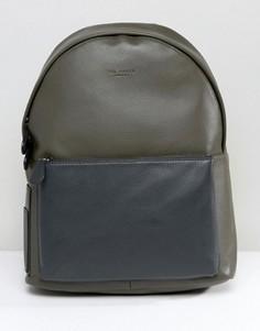 Кожаный рюкзак Ted Baker - Зеленый