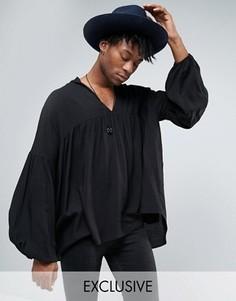 Рубашка-туника Reclaimed Vintage - Черный