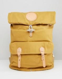 Рюкзак из лакированной хлопковой парусины Stighlorgan Reilly - Желтый