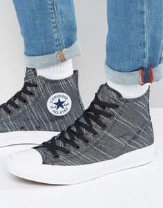 Черные кеды Converse Chuck Taylor All Star II - Черный
