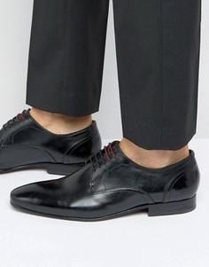 Черные кожаные туфли на шнуровке Ted Baker Vandro - Черный