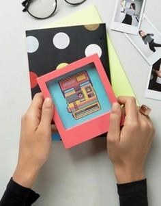 Фоторамка 4x4 Polaroid - Розовый