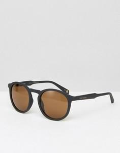 Круглые солнцезащитные очки Ted Baker - Черный