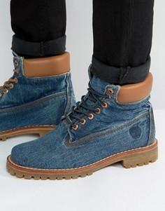 Джинсовые ботинки Timberland Classic 6 Inch - Синий