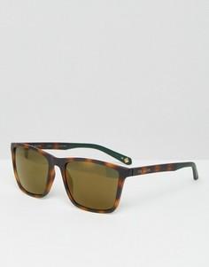 Квадратные солнцезащитные очки Ted Baker - Коричневый