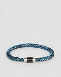 Синий плетеный браслет Ted Baker - Синий