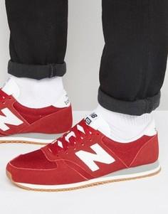 Красные кроссовки в стиле 70-х New Balance Running 420 U420RWG - Красный