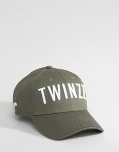 Камуфляжная бейсболка Twinzz - Зеленый