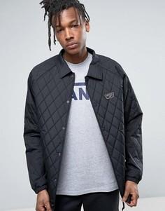 Черная стеганая спортивная куртка Vans Torrey - Черный