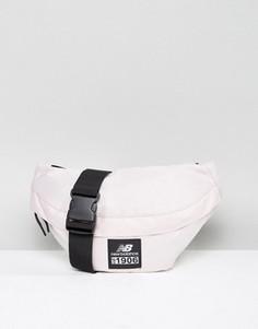 Розовая сумка-кошелек на пояс с логотипом New Balance Classic - Розовый