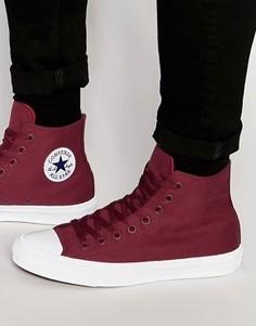 Высокие красные кеды Converse Chuck Taylor All Star II 150144C - Красный
