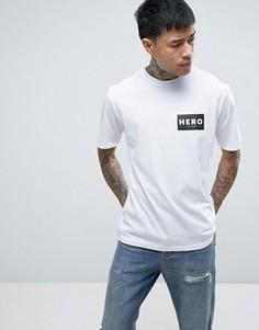 Белая футболка Heros Heroine - Белый