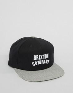 Бейсболка Brixton Woodburn - Черный