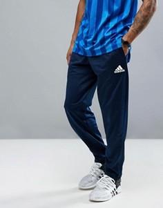 Темно-синие зауженные джоггеры adidas Tango B46921 - Темно-синий