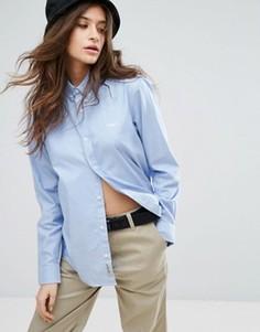 Свободная рубашка бойфренда Carhartt WIP - Синий