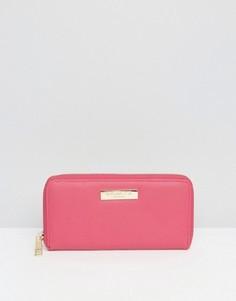 Кошелек на молнии Carvela Alis - Розовый