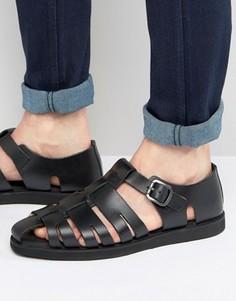 Черные сандалии-гладиаторы Red Tape - Черный