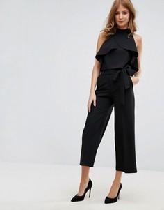 Юбка-брюки с запахом спереди Millie Mackintosh - Черный