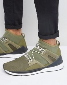 Высокие зеленые кроссовки Puma Blaze Of Glory Limitless 36312604 - Зеленый