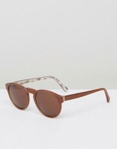 Солнцезащитные очки RetroSuperFuture Paloma - Коричневый