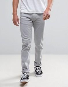 Серые узкие джинсы Levis Line 8 - Серый
