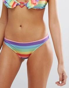 Разноцветные плавки бикини Lazy Oaf - Мульти